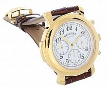 Men`s Gold Tone Genesee Watch Co Wristwatch