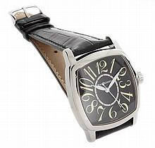 Steel Daniel Jean Richard TV Cushion Automatic Watch