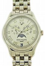 18K White Gold Patek Philippe 5036G Annual Calendar Watch