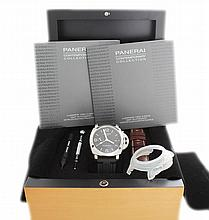 Gents Panerai Luminor 1950 3 Days GMT Watch PAM320
