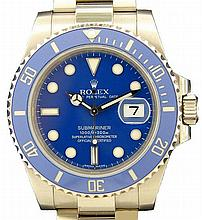 18k White Gold Rolex Submariner Watch #116619