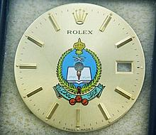 Rare Rolex Saudi National Guard Crest Logo Dial
