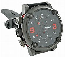 Mens Ion Plated Steel Welder K28 Chronograph Watch U-Boat