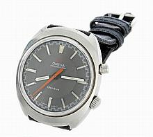 Vintage Stainless Steel Mens Omega Chronostop Watch