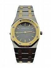 Ladies Yellow Gold & Steel Audemars Piguet Royal Oak Watch