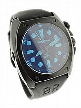 Men's Bell & Ross BR 02-92 Blue Dive Watch
