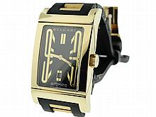 18K Yellow Gold Men's Bvlgari Rettangolo Watch