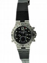 Stainless Steel Men's Bvlgari GMT Scuba Watch