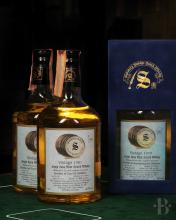 MIXED LOT - Lot panaché - Whiskies by Signatory Vintage