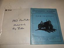1943 farm tractors standard oil co. eng.bulletin