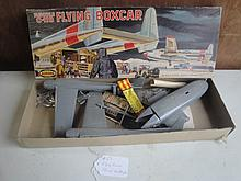flying boxcar model airplane