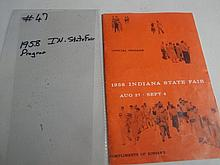 1958 IN state fair program
