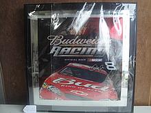 budweiser racing mirror