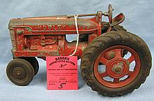 Vintage Hubley toys farm tractor