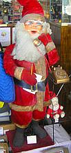 Large Mechanical animated Santa Claus store display