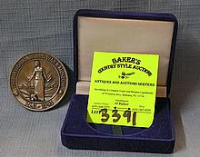 National WWII commemorative coin in original case