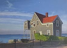 STEVE KENNEDY (20th c), East End, Provincetown, 1987, Oil
