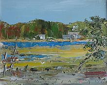 JOHN MULCAHY (1931-2012), Inlet (Double sided), 1997, Oil