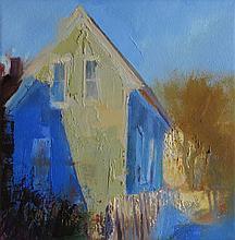 CHET JONES (1957 - ), Pleasant Street Afternoon, Oil