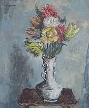 SOL WILSON (1896-1974), Floral Still Life, Oil