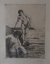 ANDERS ZORN (1860-1920), On Hemso Island, 1917, Etching