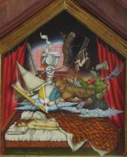TABITHA VEVERS (20c), Noisy Dreams, 1990, mixed media