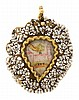 A locket pendant from the late 17th Century