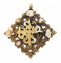 Habit of the order of Saint Dominic, from the 17th Century