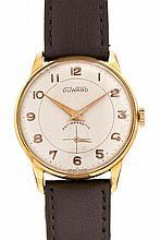 Durward, gold metal gentleman wristwatch