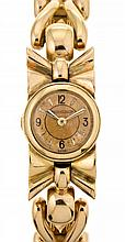 Jaeger-LeCoultre, gold lady's jewel watch
