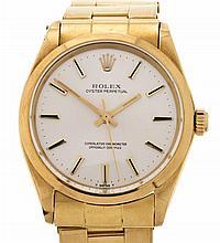 Rolex, Oyster, gold gentleman's wristwatch