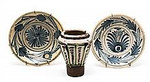 Two Talavera earthenware
