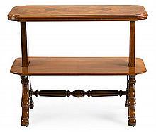 Victorian mahogany service furniture piece, mid-19th Century