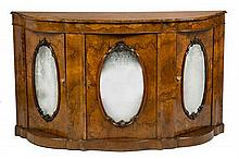 Victorian walnut dresser, late 19th Century