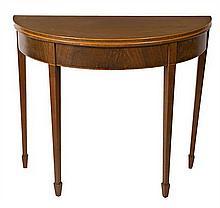 Edwardian mahogany game table, early 20th Century