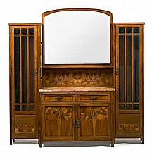 Gaspar Homar Buñola, Mallorca 1870 - Barcelona 1955 Sideboard with display cabinets