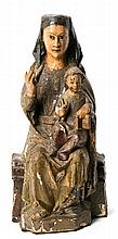 14th Century, probably Navarrese school  The Virgin and Child