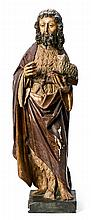 Attributed to Alejo de Vahía ? - ? circa 1515 Saint John the Baptist