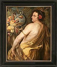 Workshop of Jan Boeckhorst Münster 1604 - Antwerp 1668 Pomona or The Summer