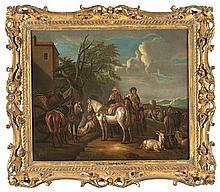 Attributed to Peter van Bloemen, Standaart Antwerp 1657 - 1720 Rural view