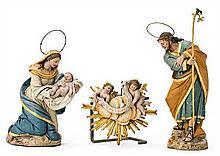 Catalan school, 19th Century  The Nativity