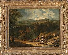 Dutch school, circa 1700. Follower of Roelant Roghman  Rural view