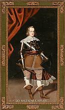 Spanish school, 18th Century  Portrait of Prince Baltasar Carlos