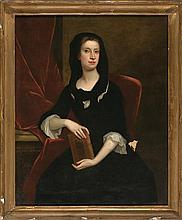English school, 18th Century  Portrait of Jemima Crew, wife of the first Duke of Kent