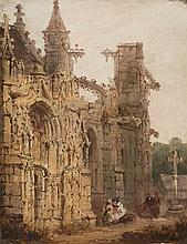 Attributed to Clarkson Stanfield Sunderland 1793 - Hampstead 1867 Gothic ruins