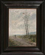 Eliseo Meifrén Barcelona 1857 - 1940 Winter landscape