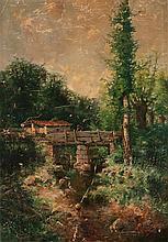 Andrés Larraga Valtierra 1862 - Barcelona 1931 Landscape