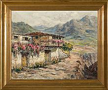 Manuel López Ruiz Cádiz 1872 - Santa Cruz de Tenerife 1960 Rural view