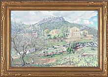 Iu Pascual Vilanova i La Geltrú 1883 - Riudarenes 1943 Landscape