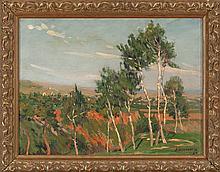 Ramón Sanvisens Barcelona 1917 - 1987 Landscape